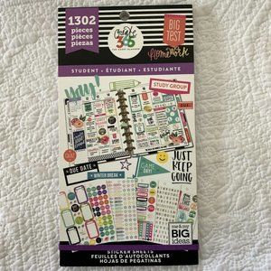 Create 365 The Happy Planner- Student Sticker Shee